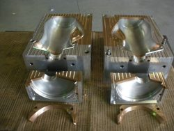 Blow mold tooling prototype